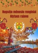 Rugsėjo mėnesio renginiai | Alytaus rajonas