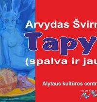 """Otwarcie wystawy Arvydasa Švirmickasa """"Malarstwo (kolor i uczucia)"""""""