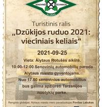 """Rajd Turystyczny DSTK """"Dzukija Jesień 2021: po drogach publicznych"""""""