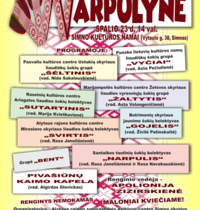 "Festiwal tańca ludowego ""Narpulyne"""