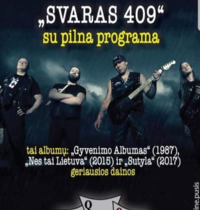 """Concert of the group """"Svaras 409"""""""