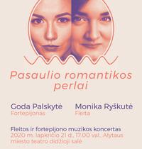 """Koncert muzyki fletowo-fortepianowej """"Perła Świata Romansu"""""""