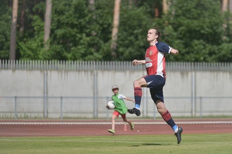 Futbolo varžybos: DFK Dainava – FK Atmosfera