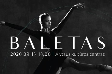 Garsiausių baleto pasirodymų ištraukos Alytuje