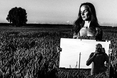 """Seminaras """"Fotografas ir modelis (personažas) - kūrybinis santykis tarp JŲ"""""""