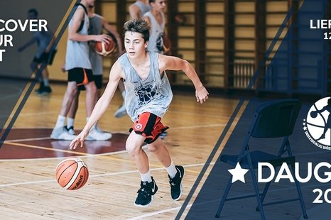 "Stovykla ""Discover your best basketball"""