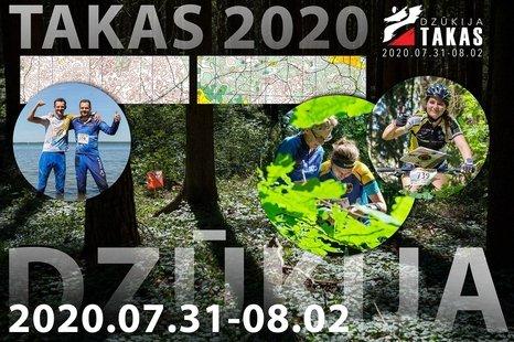 """Orientavimosi sporto varžybos """"Takas 2020"""""""