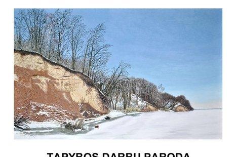 """Vytauto Lazausko darbų paroda """"Žiemos sapnas"""""""