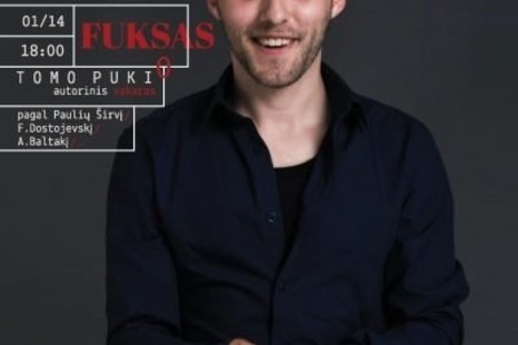 """""""FUKSAS"""". TOMO PUKIO AUTORINIS VAKARAS"""
