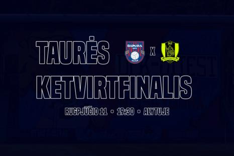 Futbolo varžybos – DFK Dainava – FK Riteriai