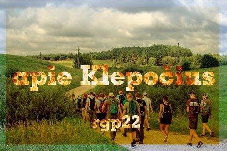 Pėsčiomis Klepočių kaimo apylinkėmis