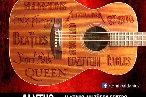 Tomi Paldanius is an acoustic guitar virtuoso