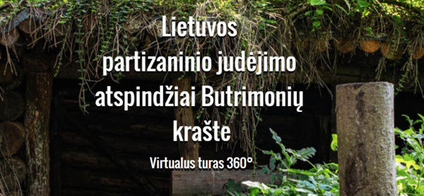 Reflections of the Lithuanian partisan movement in the Butrimonys region