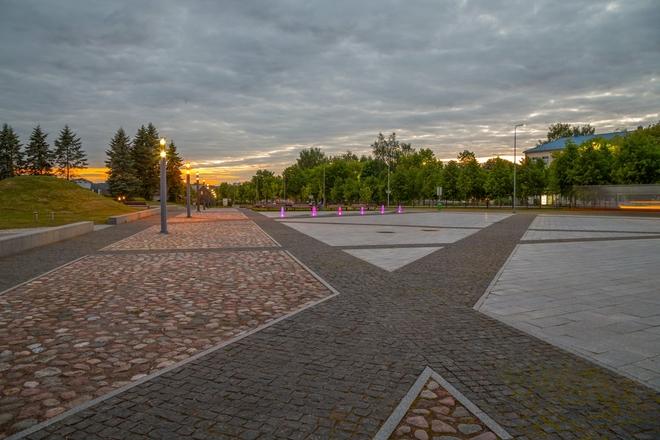 Историческая площадь Первого Алитуса