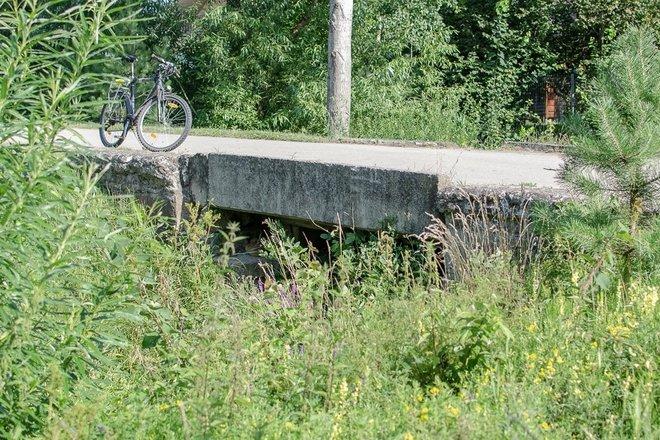 XIX a. geležinkelio tiltelis