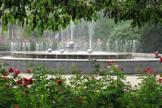 Alytaus miesto sodo fontanas