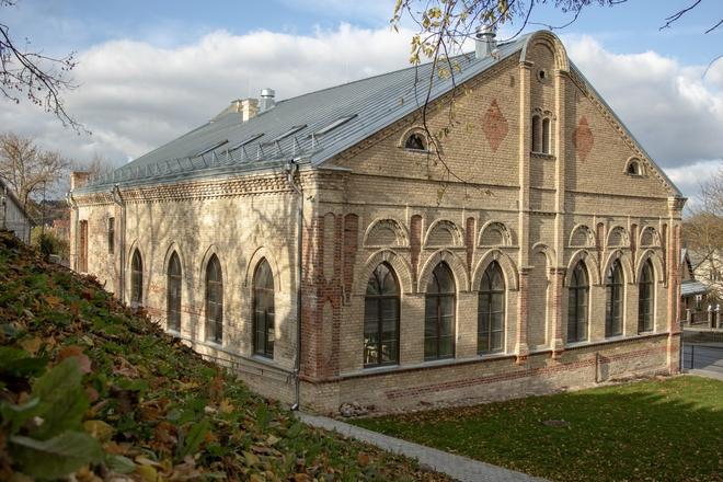 Бывшая синагога и дом раввина