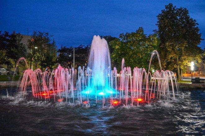 Alytaus Senamiesčio skvero fontanas