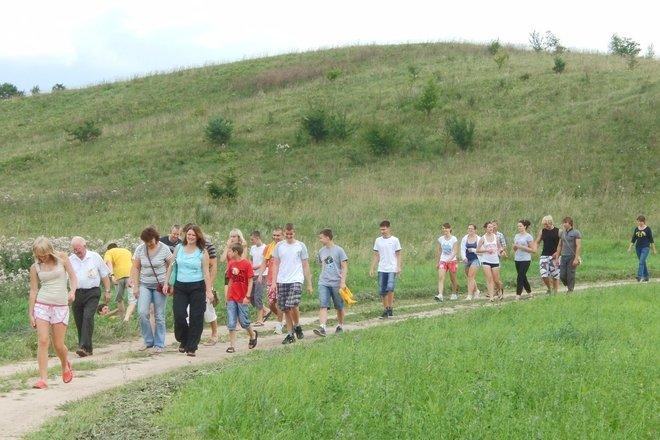 Aukakalnis in the village of Doškonys
