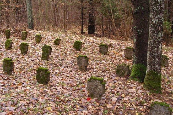 Pirmojo pasaulinio karo vokiečių karių kapinės Karliškėse