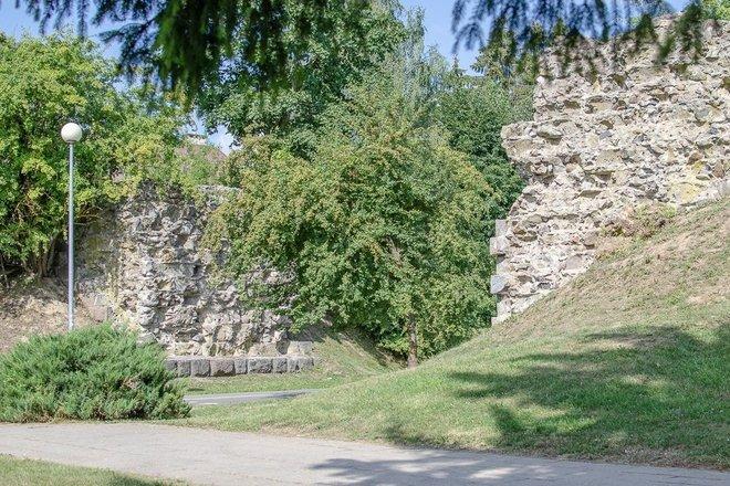 XIX a. geležinkelio  Simno plento viadukas