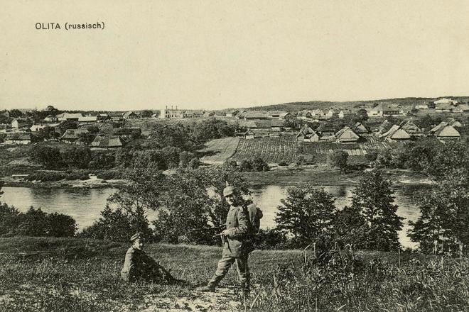 Pirmojo pasaulinio karo pėdsakais Alytuje