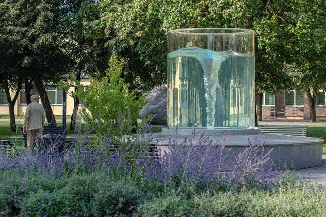 Butrimonių miestelio fontanas