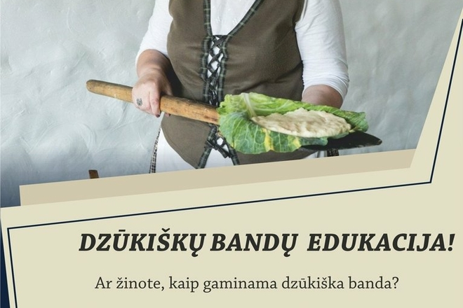 "Baking education of Dzūkija herds in ""Tarzania"""