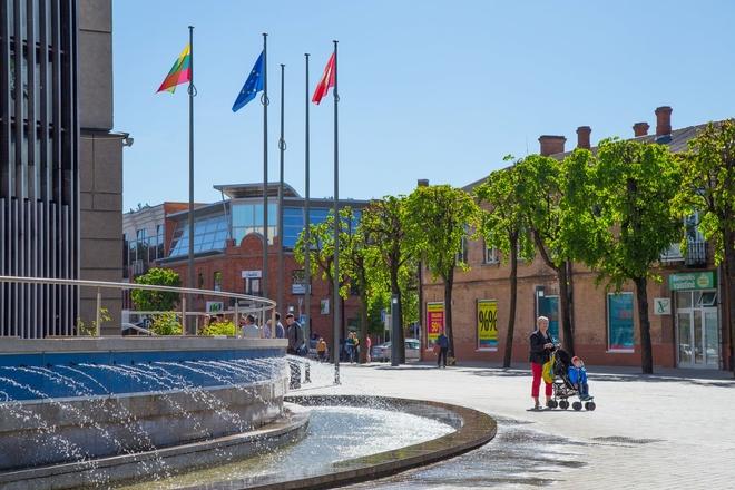 Alytaus Rotušės aikštės fontanas