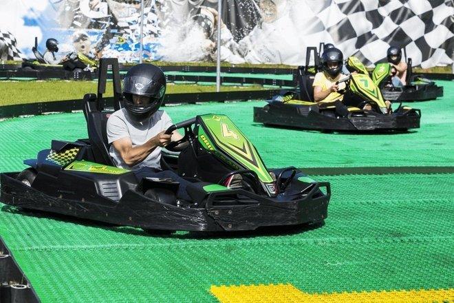 Skiddy Kart Track