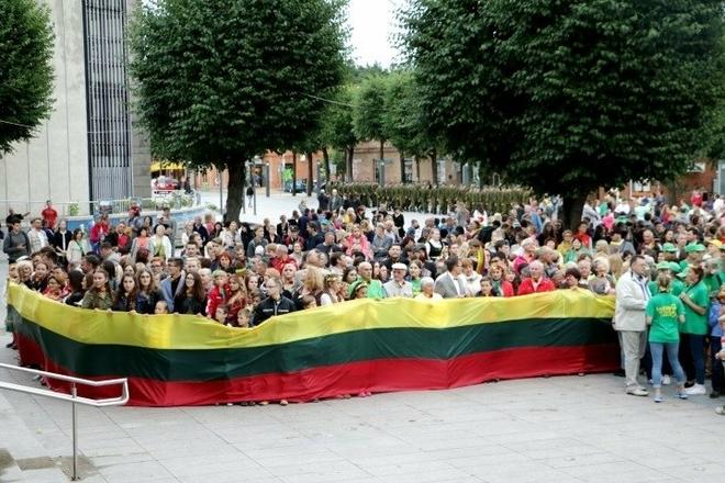 Atkurtos Lietuvos 100-mečio pėdsakais Alytaus mieste