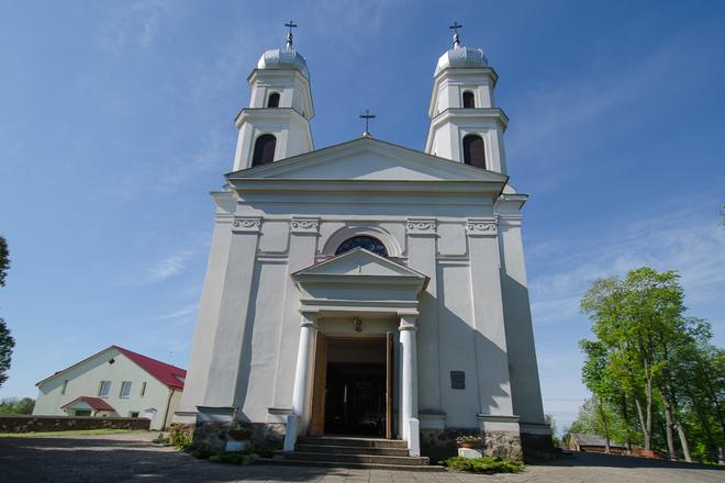 Miroslavo Švč. Trejybės bažnyčia