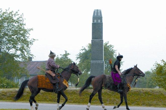 Pomnik wielkiego księcia Witolda Wielkiego w Raižiai