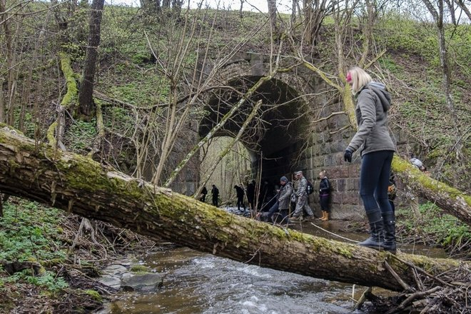 Skernės upelio tunelis