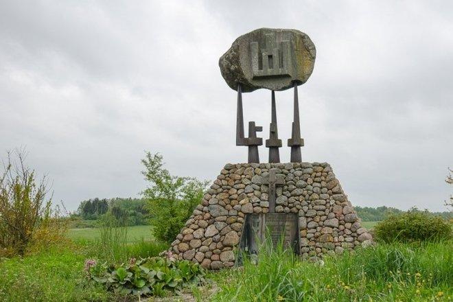 Памятник жертвам сталинских репрессий в Першекининкай