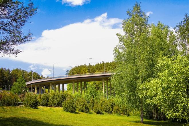 The Lithuania's Millennium Bridge