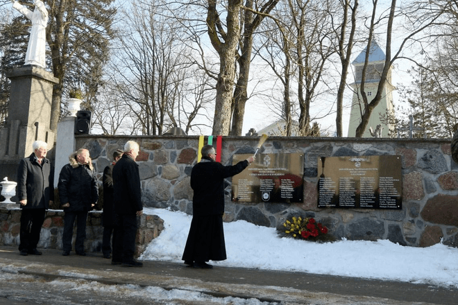 Atminimo lentos kovotojams už Lietuvos laisvę