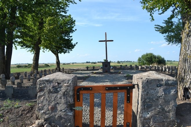 Кладбище немецких солдат первой мировой войны в Мергалаукисе